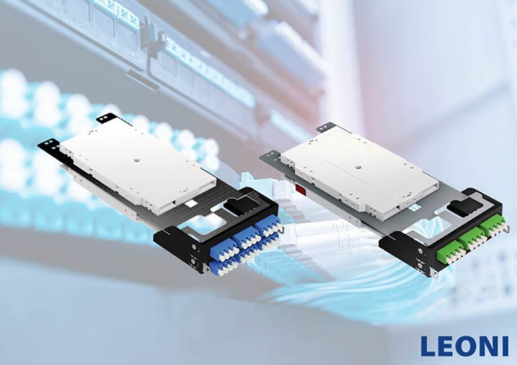DClink Modular Patch Panel LC Splice Modules